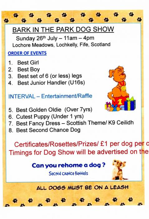 Dog Show Classes.